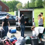 Unpacking the Vand and Trailer